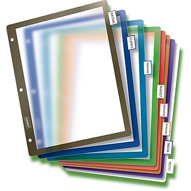Staples® Better® Fixed Tab Dividers
