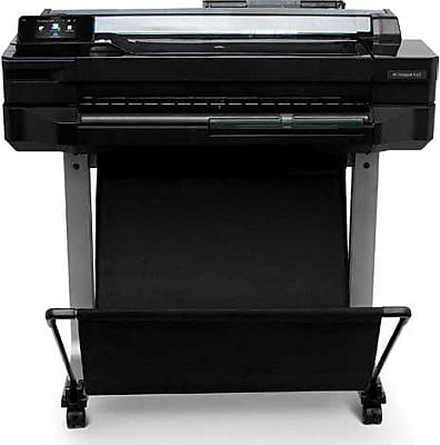 HP® DesignJet T520 Wireless Wide/Large Format Color Inkjet Printer (CQ890A#B1K)