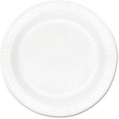 Dart ® Concorde ® Non-Laminated Round Foam Plate, 10 1/4
