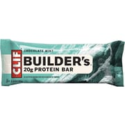 Clif® Bars Builders Chocolate Mint, 2.4 oz. Bars, 12 Bars/Box (CCC160044)