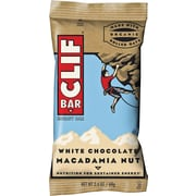 Clif Bar, White Chocolate Macadamia Nut Bars,12/Bx