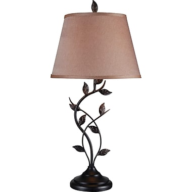 Kenroy Ashlen Table Lamp in an Oil Rubbed Bronze Finish