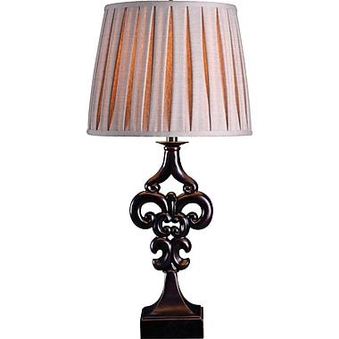 Kenroy Fleur Table Lamp in Oil Rubbed Bronze Finish