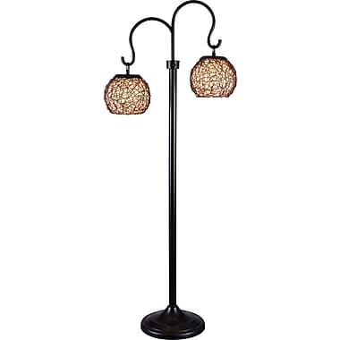 Kenroy Castillo Outdoor Floor Lamp w/ Bronze Finish