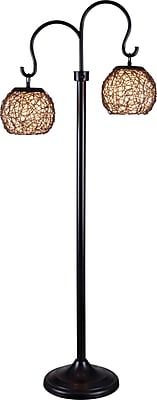 Kenroy Castillo Outdoor Floor Lamp w/ Bronze Finish