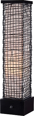 Kenroy Trellis Outdoor Table Lamp w/ Bronze Finish & 6