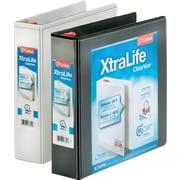 Cardinal® - Reliures XtraLife ClearVue blocables à anneaux en D, 2 po
