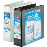 "Cardinal® XtraLife ClearVue Locking D-Ring Binders, 3"""