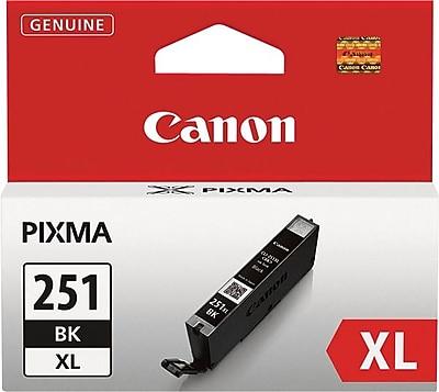 Canon (6448B001) Black Ink Cartridge, High Yield