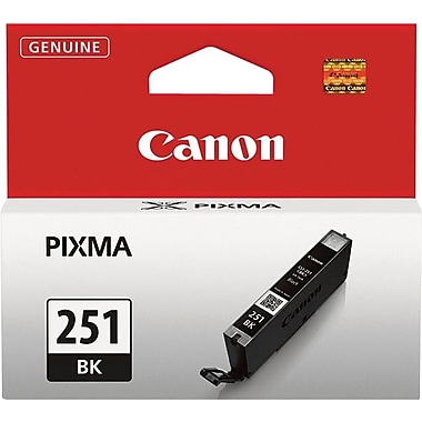 Canon® CLI-251 Black Ink Tank (6513B001)