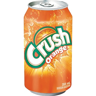 Crush Orange, 355 mL Cans, 12-Pack