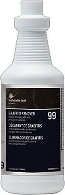 Sustainable Earth by Staples® #99 Graffiti Remover, Ready To Use, 32 Oz.