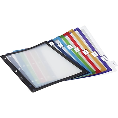 Staples® Better® Fixed Tab Dividers, 8-Tab, Mulitcolor, 1 set/pack