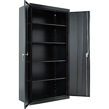 Alera® Assembled Storage Cabinets with Adjustable Shelves