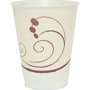 SOLO® Trophy Symphony Foam Hot/Cold Cups, 12 oz., 1000/Case