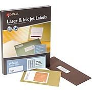 """Maco All Purpose Labels, 1"""" x 2.63"""", White, 3000/Box (PICML3000)"""