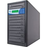 EZDupe EZD5TDVDLGB 5 Target Standalone CD/DVD Duplicator
