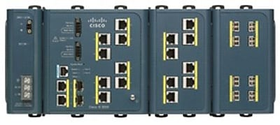 Cisco 3000 8-Port Industrial Fast Ethernet Switch With 2 SFP Slots