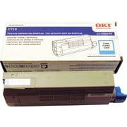 OKI C710 Series Toner Cartridge, Cyan (43866103)
