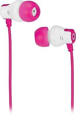 Memorex™ CB25 In-Ear Color Earbuds, Pink