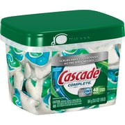 Cascade® Complete™ All-in-1 Action Pacs Dishwasher Detergent, Fresh Scent, 48/Pack