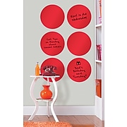 WallPops Red Hot Dry Erase Dots