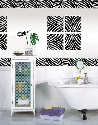 WallPops Go Wild Blox & Stripes