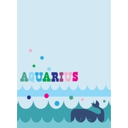 WallPops Aquarius Dry-Erase Message Board