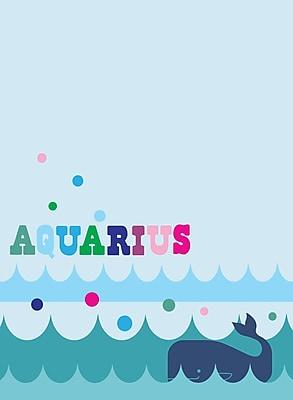 WallPops Aquarius Dry-Erase Message Board