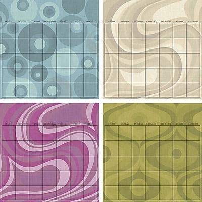 WallPops Twister 4pc Dry-Erase Calendar Set
