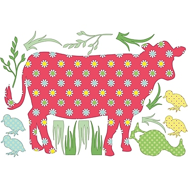WallPops Dakota the Cow