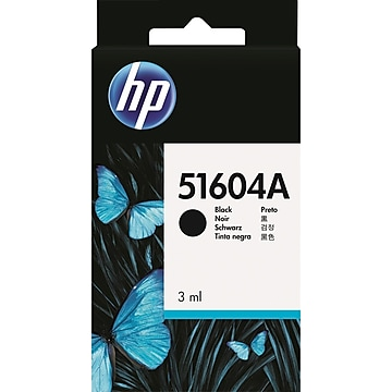 HP 51604A Black Ink Cartridge, Standard