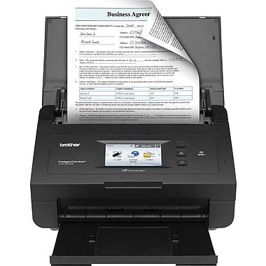 Brother ImageCenter ADS2500W Document Scanner, Black