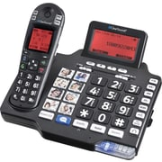 ClearSounds® Cordless Phones, A1600BT DECT 6.0 Cordless Phone and Answering Machine with Bluetooth®