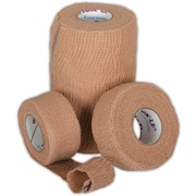 "Co-Flex® LF2 Latex-free Non-sterile Cohesive Bandages, Tan, 5 yds L x 4"" W, 18/Pack"