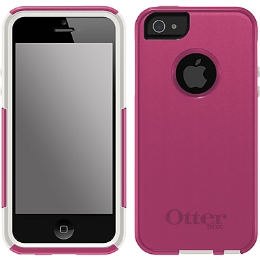 OtterBox Commuter Series Case for iPhone 5/5S, Pink/White