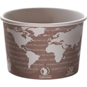 World Art™ Renewable & Compostable Soup Cups, 1000/Case