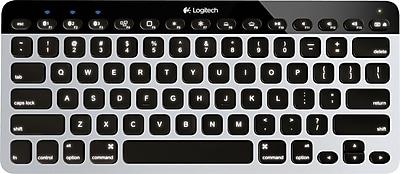 Logitech Bluetooth® Easy-Switch Keyboard for Mac®, iPad®, & iPhone® (92-4161)
