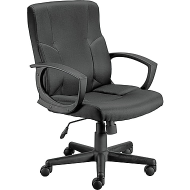 staples stiner fabric managers chair black