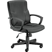 Deals on Staples Stiner Fabric Managers Chair, 23559