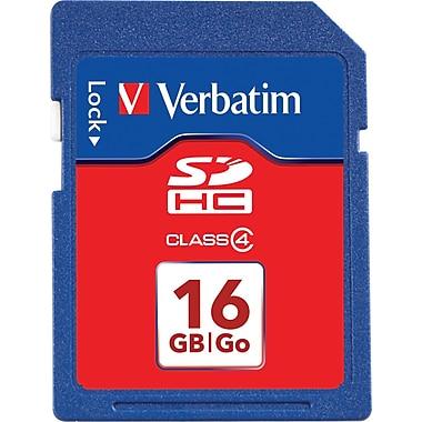 Verbatim SDHC Card Class 4, 16GB