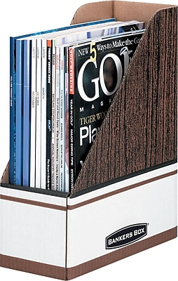 Bankers Box® Extra Strength Magazine File Holder, Oversized Letter Size, Each