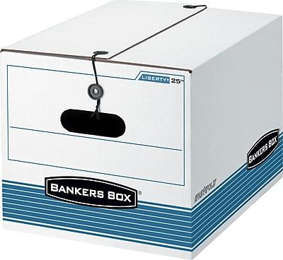 Bankers Box® FastFold™ LIBERTY 25™ String & Button Storage Boxes, 15