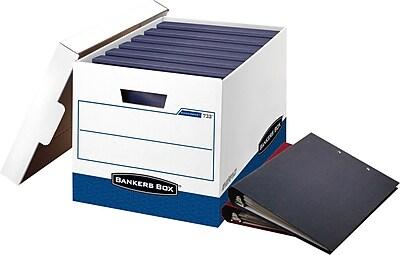 BANKERS BOX® BinderBox Heavy Duty Storage Boxes, 12/PK
