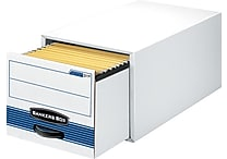 Bankers Box® Stor/Drawer® Steel Plus™ Extra Space-Saving Storage Drawers, Letter Size, 6/Pack (311™)