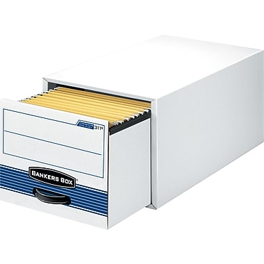 Bankers Box® Stor/Drawer® Steel Plus™ Extra Space-Saving Storage Drawers, Legal Size, 6 Pack (312™)