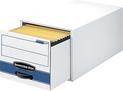 Bankers Box® Stor/Drawer® Steel Plus™ Storage Drawers, Legal Size, 6/Carton