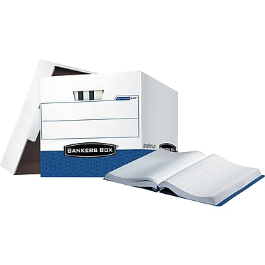 Bankers Box® Data-Pak® Storage Boxes, 4 Pack