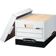 Bankers Box® R-Kive® Heavy-Duty Storage Boxes. Letter/Legal Size