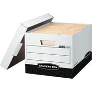 Bankers Box® R-Kive® Heavy-Duty Storage Boxes. Letter/Legal Size